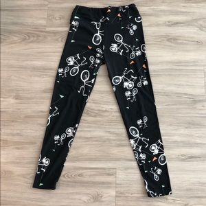 Like new LulaRoe bicycle leggings